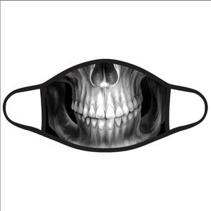 Accessories - X-ray Skull Face Mask!